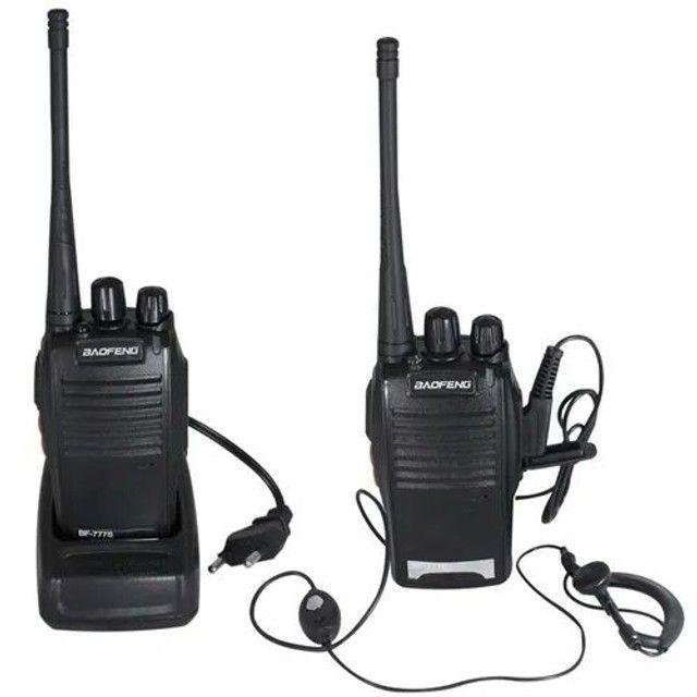2 Rádio Comunicador Walk Talk Baofeng Bf-777s - Foto 3
