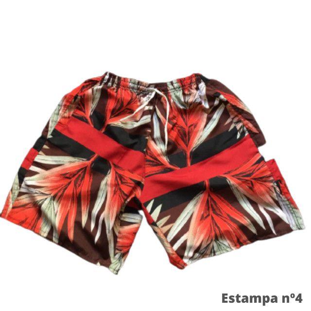 Kit 3 Shorts Masculino Mauricinho Verão Revenda