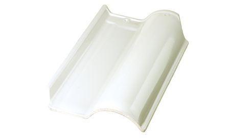 Telhas Esmaltadas - Marfim/Branca - Direto da Fabrica
