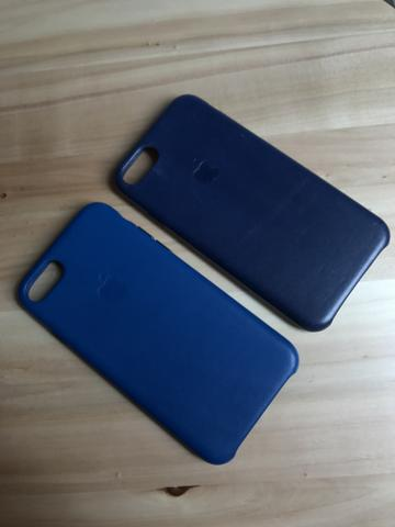 Leather Case / Capa de Couro para Iphone 7. Original!