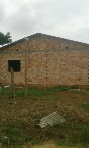 Casa 7x8 em contrução
