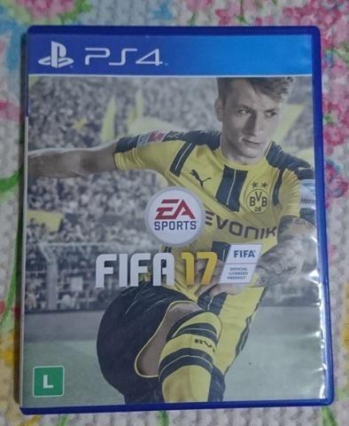 Jogo Game Futebol Fifa 17 Fifa 2017 PS4