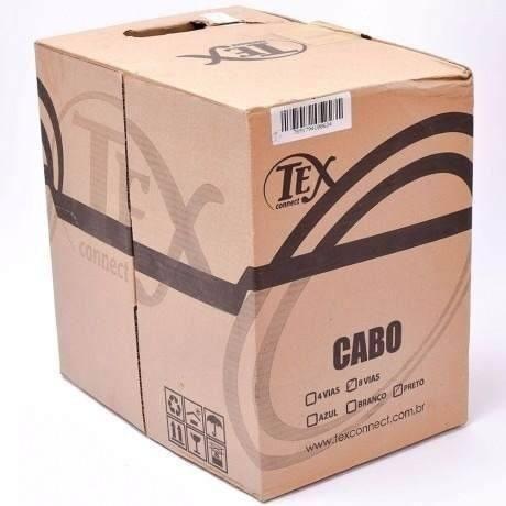 Cabo De Rede Tex Connect Cat5e Azul Cx 305mts Imediato