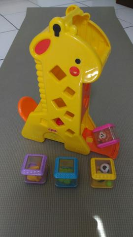 Girafa Peek-a-Bolcks - Fisher-Price - Ótimo estado