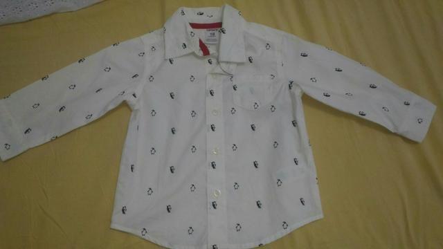 Camisa social infantil masculina