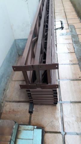 Cobertura para garagens treliças para cinco
