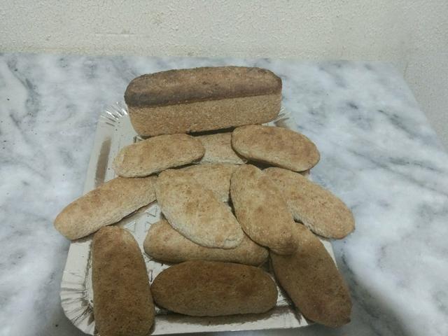 Israel tortas e pães
