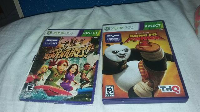 Troco esses jogos originais de Xbox 360 poucos usados