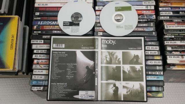 Dvd Moby, Live hotel tour 2005, Play e o 18 b sides