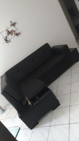 Sofá em corino