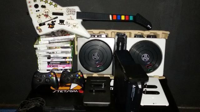 Xbox 360 320hd com acessorios
