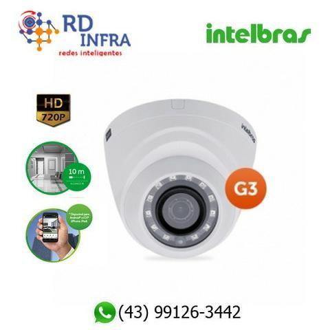 Câmera de Segurança Alta Definição (HD) - Intelbras