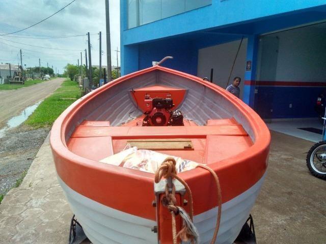 Barco Baleeira Fibra