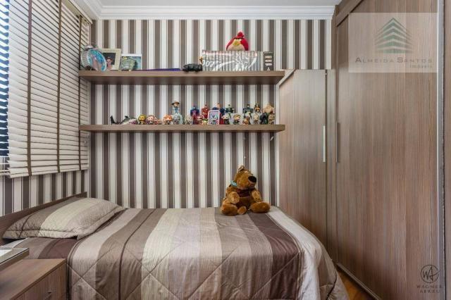 Apartamento com 3 dormitórios à venda, 129 m² por r$ 800.000 - batel - curitiba/pr - Foto 14