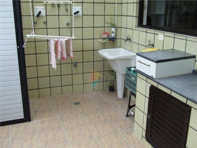 Cobertura com 5 dormitórios para alugar, 600 m² por r$ 4.000,00/mês - tupi - praia grande/ - Foto 12