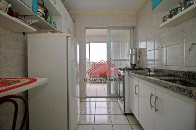 Apartamento com 3 dormitórios à venda, 69 m² por r$ 270.000,00 - santa quitéria - curitiba - Foto 13