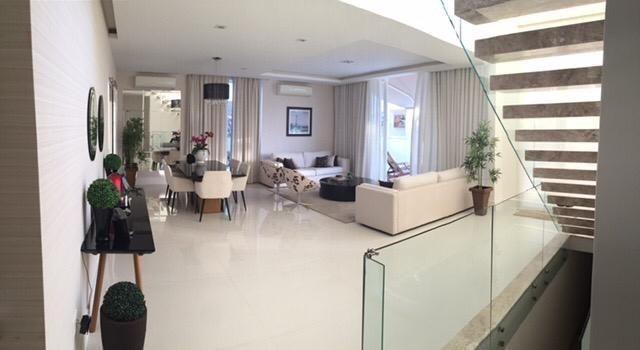 Casa cond. de Luxo, mobiliada, 5/4, sendo 4 Suítes, com piscina - Foto 5