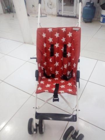 Vendo carrinho de bebê - Foto 3