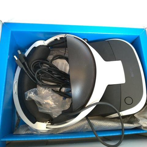 Óculos VR + câmera Playstation - Foto 2