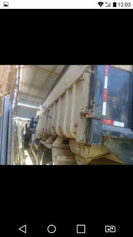Vendo caçamba muito boa 15 metro ano 2014 da morombi - Foto 5