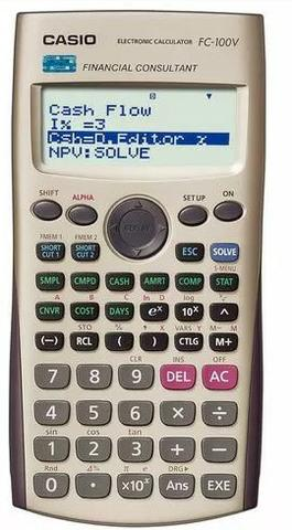 Calculadora Financeira Casio FC 100