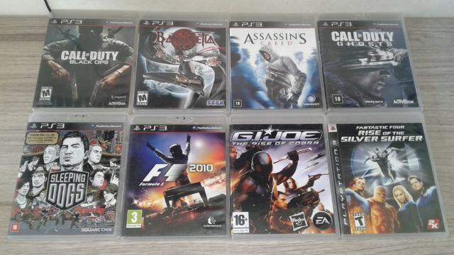 Jogos PS3 Playstation 3 só os TOP