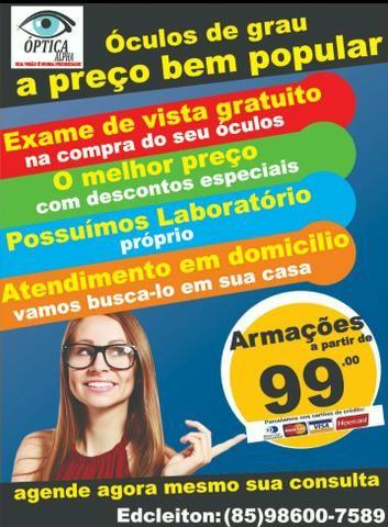 Óculos de Grau Promoção - Serviços - Bom Jardim, Fortaleza 582828192 ... 4889896ebc
