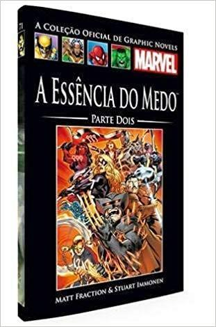 Livro Marvel A Essência Do Medo - Parte Dois