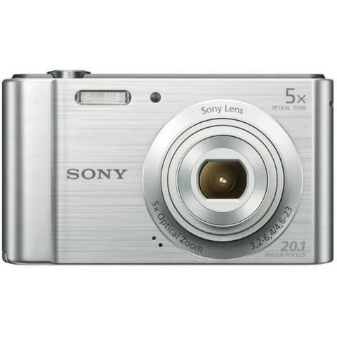 Câmera Digital Sony DSC W-800 20.1MP 5x