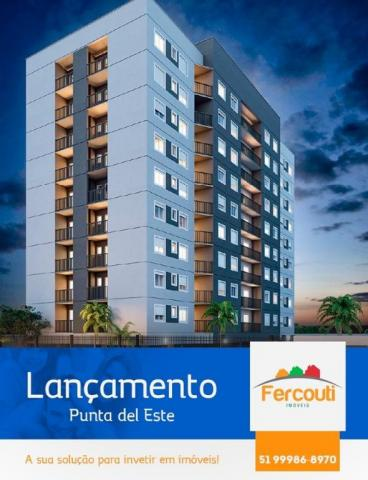 Residencial punta del este, apartamento 2 dormitórios eleva padrão do bairro santo afonso - Foto 12