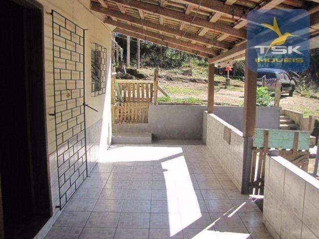 CH0252 - Agudos do Sul Chácara 10.000 m² frente asfalto 2 km da cidade - Foto 11