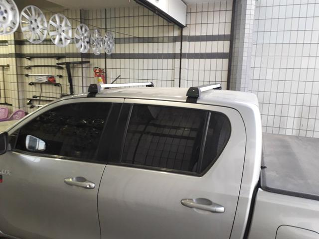 Rack bagageiro Toyota Hilux - Foto 4