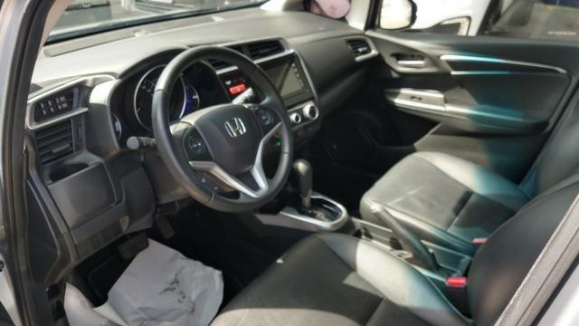 Honda - Fit E.L.X 1.5 Autm 2017 com multimídia - Contato: Tubarão - * - * - Foto 12
