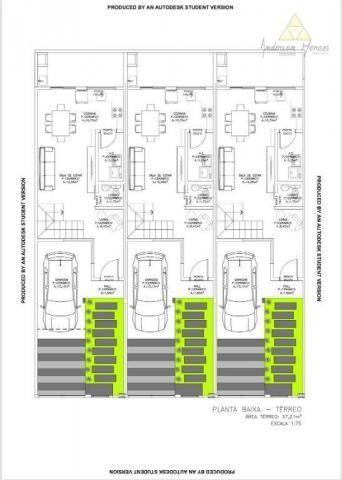 Sobrado com 3 dormitórios à venda, 112 m² por r$ 280.000,00 - itacolomi - balneário piçarr - Foto 3
