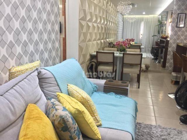 Apartamento com 3 dormitórios à venda, 65 m² por R$ 275.000,00 - Cambeba - Fortaleza/CE - Foto 16