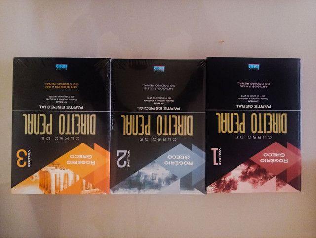 03 volumes do Curso de Direito Penal - Rogério Greco