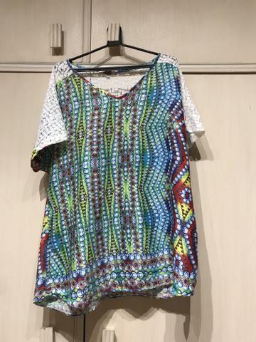 Blusa colorida fresquinha - Foto 2