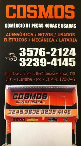 Alma Parachoque Traseiro Fox 2003/2009 Original Usada - Foto 5