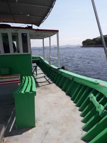 Barco traineira para pesca passeio mergulho - Foto 3