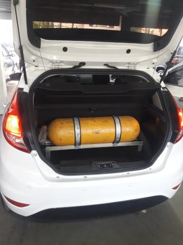 Ford New Fiesta 1.5 Hatch L S Flex 4P Manual c/ GNV (+ pequena entrada) - Foto 4