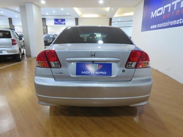 Honda Civic 1.7 EX 16v 4p Automático Blindagem III-A Completo C/ Couro - Foto 5