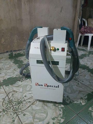 Máquina de tira linha semi nova n garantia
