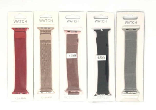 Pulseira Magnética Para Relógio Smartwatch Apple Watch 42mm 44mm Produto Novo