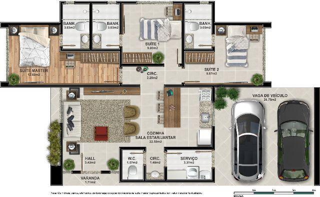 Casa 3 suítes dentro de condomínio em Maricá ! - Foto 17