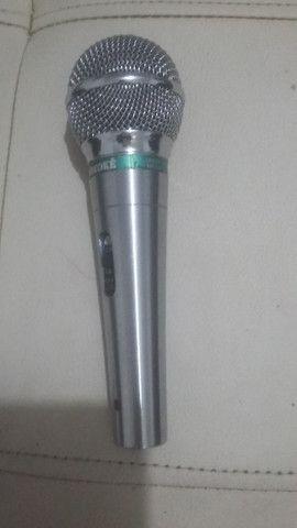 Microfone videokê