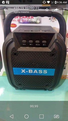 Caixa de som Bluetooth muito potente ? 99,99? - Foto 3