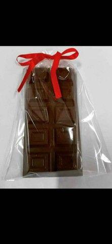Barras de chocolate recheadas  - Foto 6