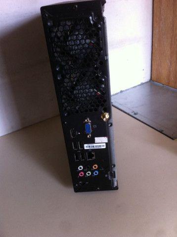 Micro Computador 775 Ecs Smacker Ii Ms200 Com Defeito - Foto 2