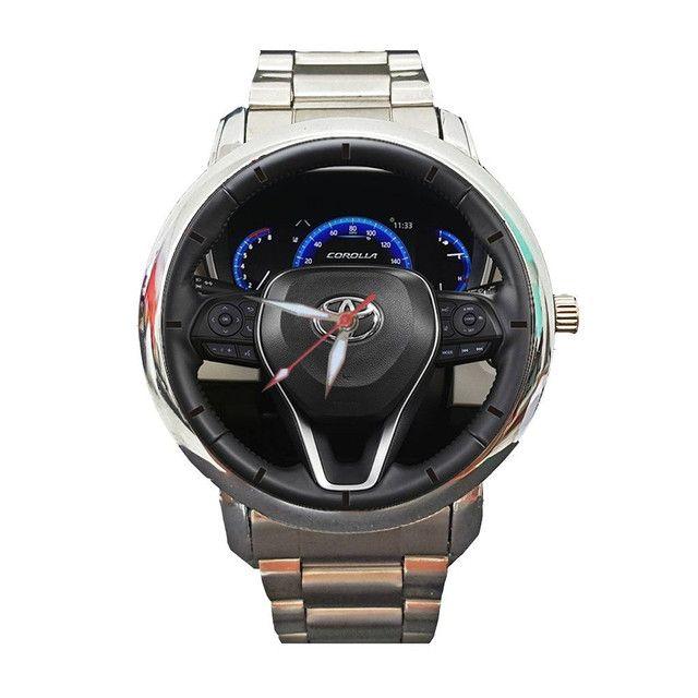 Relógio Personalizado Painel Volante Toyota Corolla