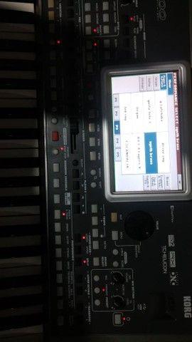 Teclado korg pa900 e equipamento de som completo  - Foto 4